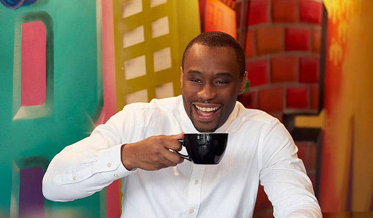 "Marc Lamont Hill ""Black Coffee"" (Credit: BET)"