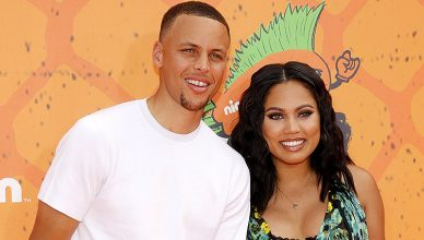 Stephen Curry and Ayesha Curry at the Nickelodeon Kids Choice Sports Awards 2016 held at the UCLA's Pauley Pavilion (Credit: Deposit Photos)
