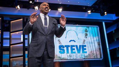 """""""Steve"""" hosted by Steve Harvey. (Credit: IMG)"""