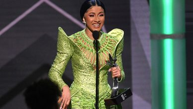 Cardi B Wins BET Award (Credit: Shutterstock)