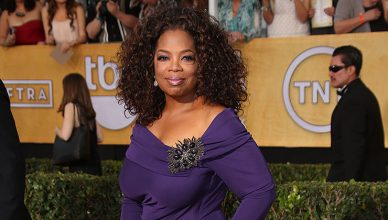 Oprah Winfrey at the 20th Annual Screen Actors Guild Awards Arrivals, Shrine Auditorium, Los Angeles, CA 01-18-14 (Credit: S. Bukley/Deposit Photos)