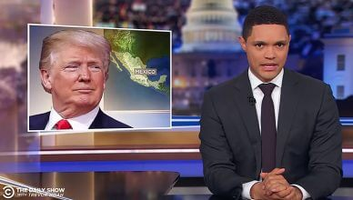 Trevor Noah Trump Tariffs (Credit: Comedy Central)