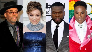 Spike Lee, Ruth E. Carter, 50 Cent, Billy Porter (Credit: Deposit Photos)