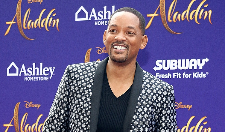 Actor Will Smith at the Los Angeles premiere of 'Aladdin' held at the El Capitan Theatre in Hollywood, USA on May 21, 2019. (Credit: PopularImages/Deposit Photos)
