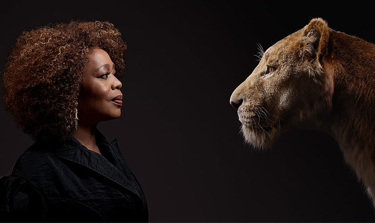 Alfre Woodard Plays Sarabi. (Credit: Walt Disney Pictures)