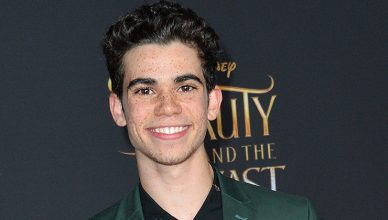 """Cameron Boyce at the premiere for Disney's """"Beauty and the Beast"""" at El Capitan Theatre, Hollywood. Los Angeles, USA 02 March 2017. (Credit: Featureflash)"""