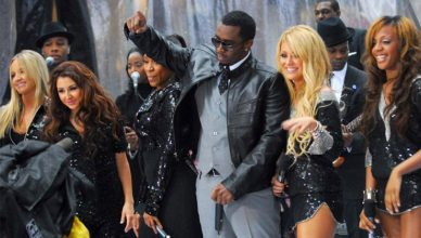 "Diddy and Danity Kane of ""Making the Band"" (Credit: YouTube)"