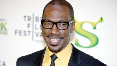 Eddie Murphy at Tribeca Shrek Forever After premier at Ziegfeld Theater on April 21, 2010 in New York City. (Credit: Shutterstock)