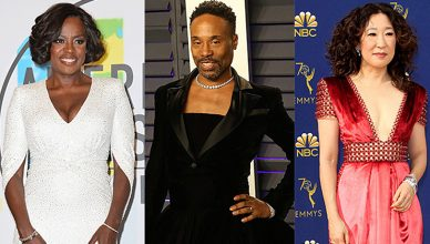 Viola Davis, Billy Porter, Sandra Oh received 2019 Emmy Award nominations. (Credit: Deposit Photos)
