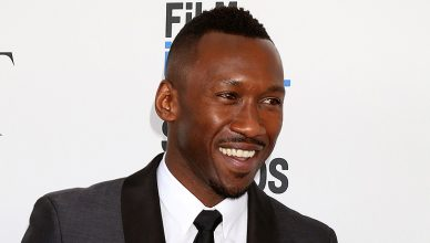 Actor Mahershala Ali — Stock Photo LOS ANGELES - FEB 25: Mahershala Ali at the 32nd Annual Film Independent Spirit Awards at Beach on February 25, 2017 in Santa Monica, CA. (Credit: Jean Nelson)