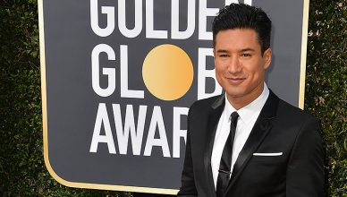 Mario Lopez at the 75th Annual Golden Globe Awards at the Beverly Hilton Hotel, Beverly Hills, USA 07 Jan. 2018. (Credit: Featureflash)