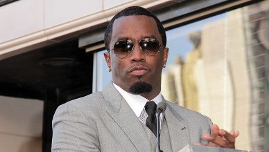"Sean Combs at the Kenny ""Babyface"" Edmonds Hollywood Walk of Fame Star Ceremony at Hollywood Boulevard, Los Angeles, CA 10-10-13. (Credit: S. Bukley/Deposit Photos)"