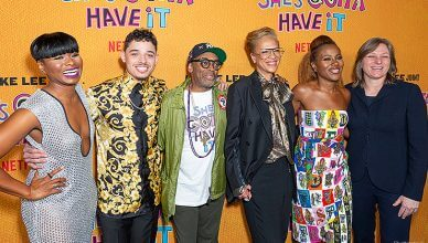 """May 23, 2019: Cast and Crew attend Netflix """"She's Gotta Have It"""" Season 2 Premiere at Alamo Drafthouse. (Credit: Shutterstock)"""