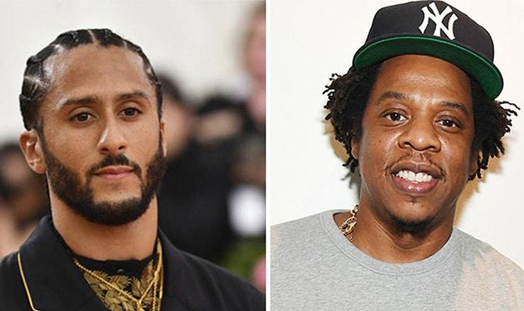 olin Kaepernick and Jay-Z NFL (Credit: Shutterstock)