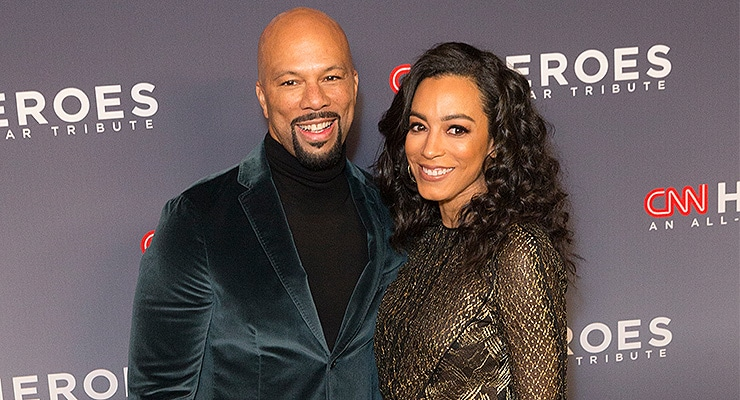 New York, NY - December 17, 2017: Common and Angela Rye attend 11th annual CNN Heroes All-Star Tribute at American Museum of Natural History (Credit: Shutterstock)