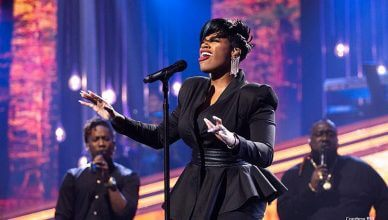 Fantasy performs new song on Sunday Best (Credit: BET)