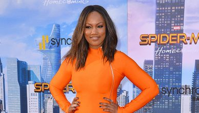"Garcelle Beauvais — Stock Photo Garcelle Beauvais at the world premiere for ""Spider-Man: Homecoming"" at the TCL Chinese Theatre, Los Angeles, USA 28 June 2017 — Photo by Featureflash"