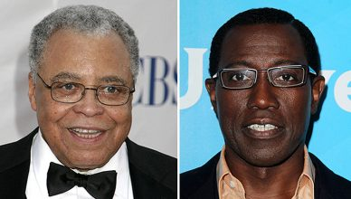 James Earl Jones and Wesley Snipes (Credit: Deposit Photos)