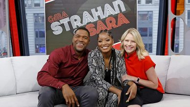 Keke Palmer Joins Strahan and Sara (Credit: ABC)