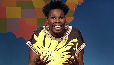 Leslie Jones on Saturday Night Live (Credit: NBC)