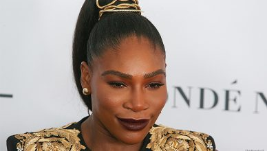 NOVEMBER 13 2017: Serena Williams at the annual Glamour Women of the Year Awards ceremony was held in Brooklyn's Kings Theater on Flatbush Ave. (Credit: Shutterstock)