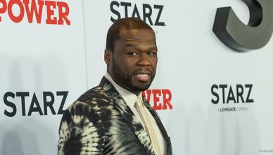 New York, NY - August 20, 2019: Curtis 50 Cents Jackson attends STARZ Power Season 6 premiere at Madison Square Garden. (Credit: Shutterstock)