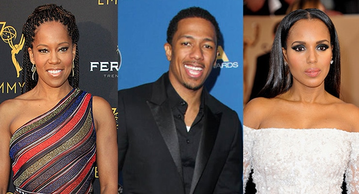 Regina King, Nick Cannon and Kerry Washington will serve as Emmy presenters. (Credit: Deposit Photos)