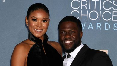 "Eniko Parrish, Kevin Hart at the ""Get Hard"" Premiere, Chinese Theater, Hollywood, CA 03-25-15 — Photo by s_bukley"