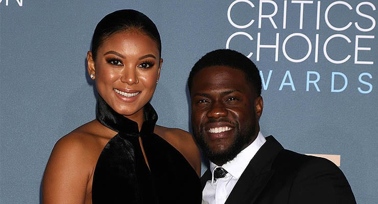 """Eniko Parrish, Kevin Hart at the """"Get Hard"""" Premiere, Chinese Theater, Hollywood, CA 03-25-15 — Photo by s_bukley"""