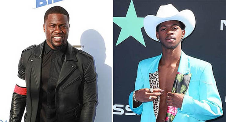 Kevin Hart and Lil Nas X (Credit: Shutterstock)