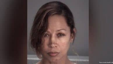 Stacey Dash Arrest (Credit Pasco County Sheriff's Office)