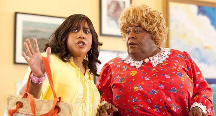 Brandon T Jackson and Martin Lawrence in Big Mommas: Like Father, Like Son. (Credit: Fox)
