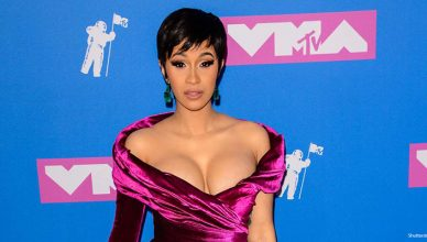 Cardi B attends the 2018 MTV Video Music Awards. (Credit: Shutterstock)