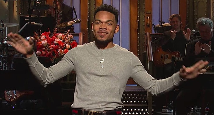 Chance the Rapper on SNL (Credit: NBC)