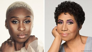 Cynthia Erivo and Aretha Franklin (Credit: John Russo/Handout Photo)