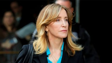 Felicity Huffman Makes Court Appearance in April 2019. (Credit: Shutterstock)