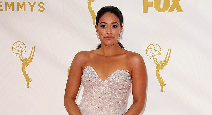 LOS ANGELES - SEP 20: Gina Rodriguez at the 67th Annual Primetime Emmy Awards Arrivals, Microsoft Theater, Los Angeles, CA — Photo by bossmoss