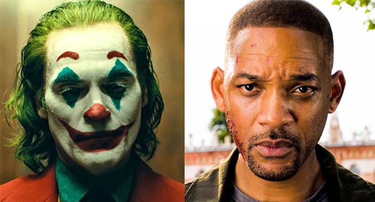 Joker and Gemini Man (Courtesy Warner Bros. and Paramount)