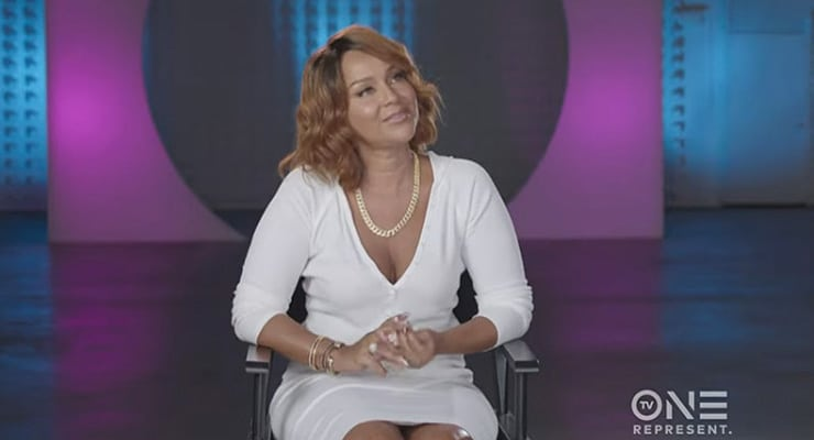 LisaRaye McCoy on Uncensored (Credit: TV One)