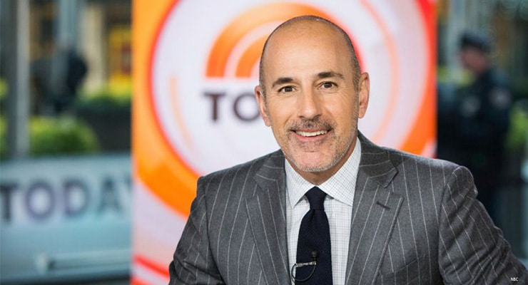 Matt Lauer on Today Show. (Credit: NBC)