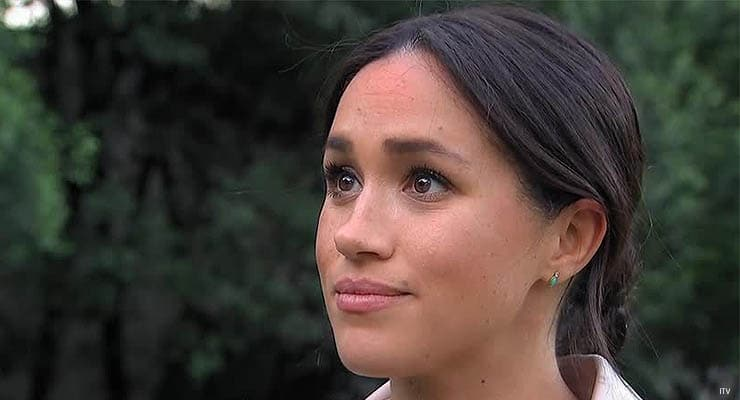 Meghan Markle speaks to ITV (Credit: ITV)