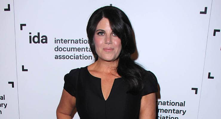 LOS ANGELES - DEC 5: Monica Lewinsky at the 2014 IDA Documentary Awards, Paramount Studios, on December 5, 2014 in Los Angeles, CA — Photo by bossmoss