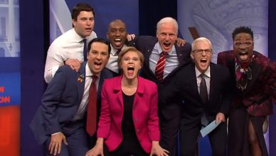 SNL CNN Town Hall Cold Open (Credit: NBC)
