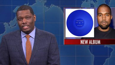 SNL Weekend Update Segment on Kanye West (Credit: NBC)
