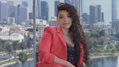 Tisha Campbell on TV One's Uncensored. (Credit: TV One)