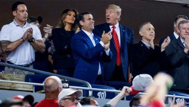 Trump Booed at World Series (Twitter)