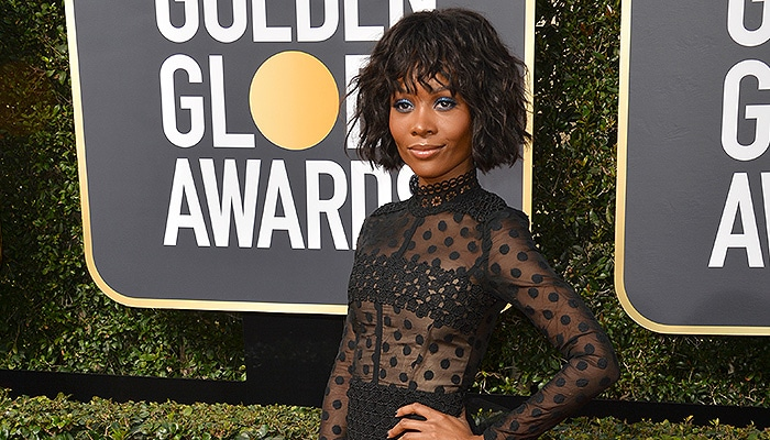 Zuri Hall at the 75th Annual Golden Globe Awards at the Beverly Hilton Hotel, Beverly Hills, USA 07 Jan. 2018 — Photo by Featureflash