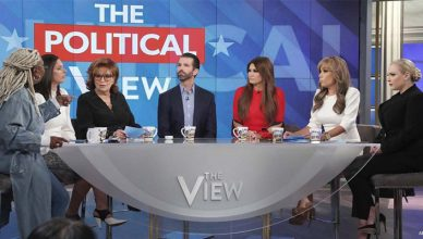 Donald Trump Jr on The View on Thursday, Nov. 7, 2019. (Credit: ABC)