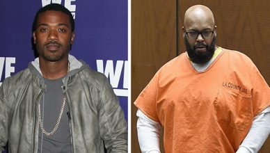 Ray J and Suge Knight (Credit: Deposit Photos and Shutterstock)
