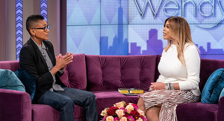 Robyn Crawford on The Wendy Williams Show (Credit: The Wendy Williams Show)